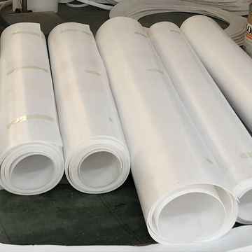 white plastic ptfe sheet 4 inch ptfe sheets