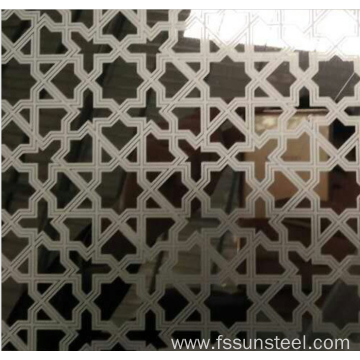 304 Mirror etched stainless steel sheets