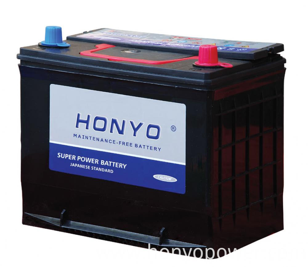 12V 50Ah MF Car Batteries JIS