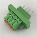 male and female plug panel mount terminal block