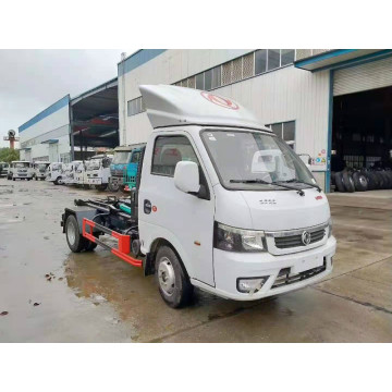 Light Hook Arm Garbage Truck With 3 Cbm