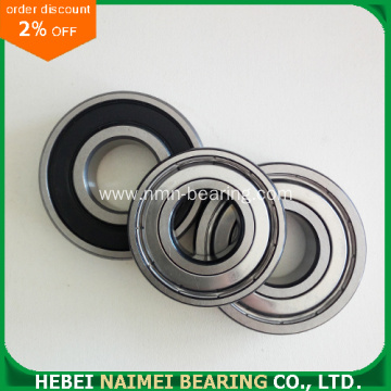 6003ZZ metal contact radial ball bearing
