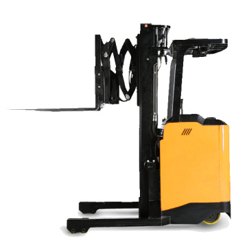 single scissor reach battery forklift trucks