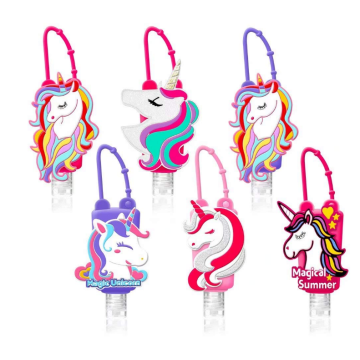Portable Custom Cartoon Silicone Hand Sanitizer Holder