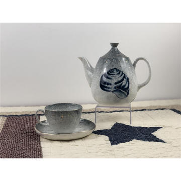 Ceramic tea sets tableware tea pot and cups