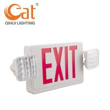 LED emergency light fire wall mounted exit sign