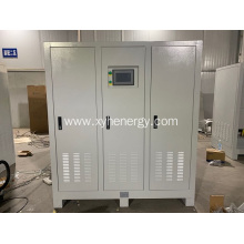 Static frequency converter three phase output