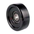 flat idler tensioner pulley