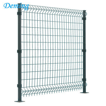 Anping triangle bending galvanized wire mesh fence