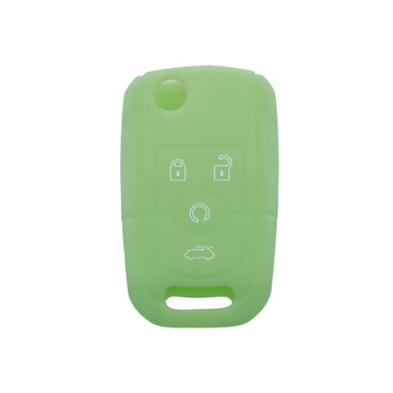 Buick silicon car key cover with 4 buttons