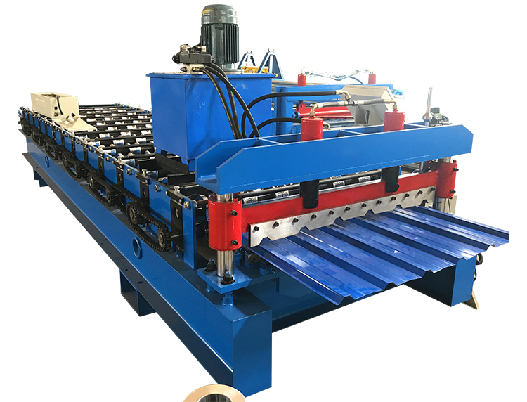 IBR Tile Forming Machine