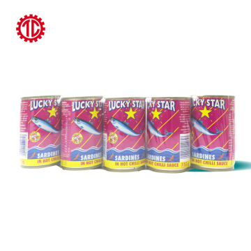 Canned Mackerel Fish in Round Can 425g