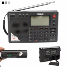 TECSUN PL-380 DSP PLL FM MW SW LW Digital Stereo Radio World-Band Receiver New 3 Colors 7 Tuning Mode Selectable 135x86x29mm
