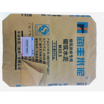 Cement Bag with automatic valve
