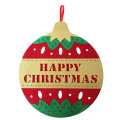 Christmas hanging pendant with jingle bell pattern
