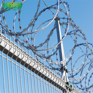 Concertina razor barbed wire price per meter