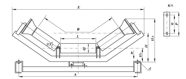 Friction Idler Structure