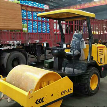 3.5 ton vibratory road roller compactor machine