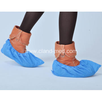Disposable Medical Indoor Non-Skid CPE Shoe Cover