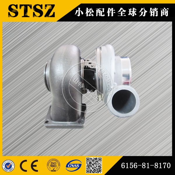 Kom Pc400 7 Turbocharger 6156 81 8170