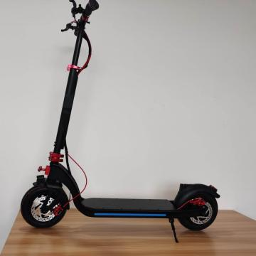 Custom Foldable Black Adult Electric Scooter