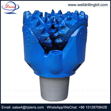 Mill tooth tricone drill rock bits