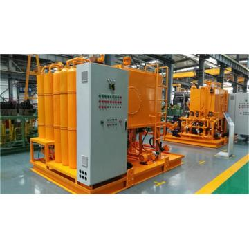 Hydraulic system of new garbage incinerator