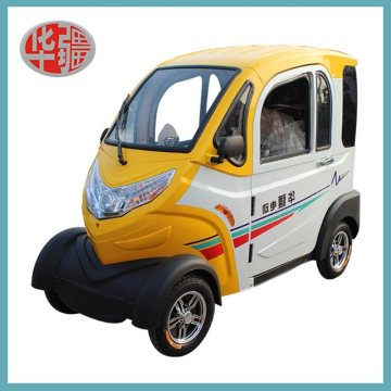 Plastic Housing Four Wheel Electric Vehicle.