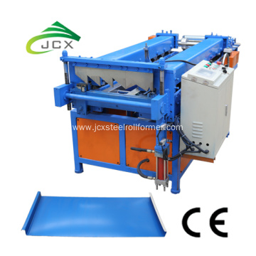 Clip lock standing seam roof machine