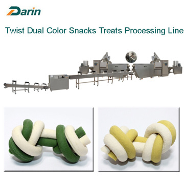 Dual Color Dog Snacks Treats Extruding Machine