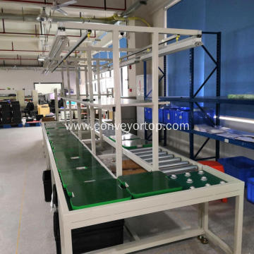 Customized Manual Conveyor Belt Assembly Production Line