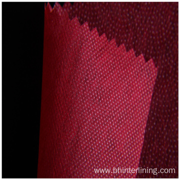Thermo-bond paste dot nonwoven fusible interlining