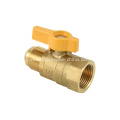 1/2'' FIP X 1/2'' flare brass gas ball valve of Forging