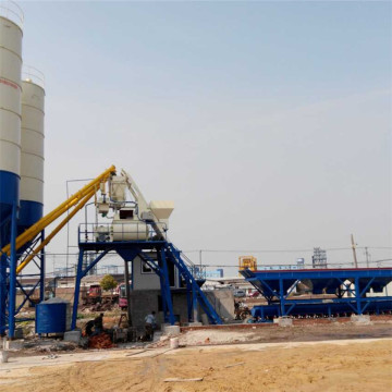 Construction use ready bucket concrete batching plant