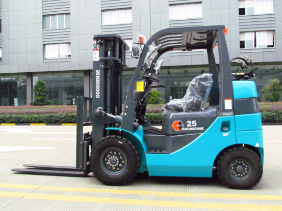 Cushion Tire Electric Forklift
