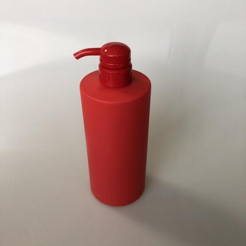750ml HDPE round bottle with pump