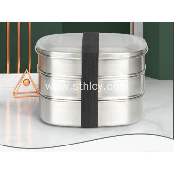 304 Stainless Steel Lunch Box Portable Bowl