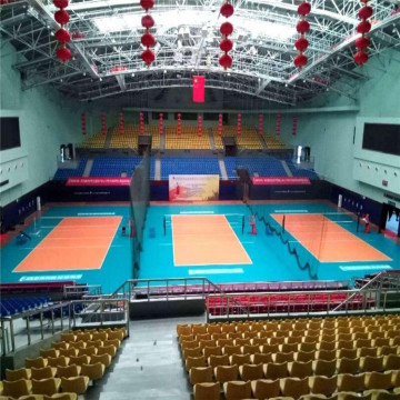 FIVB approved indoor PVC volleyball court flooring