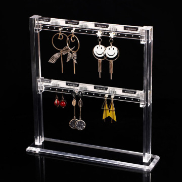 Customized acrylic jewelry countertop display stand