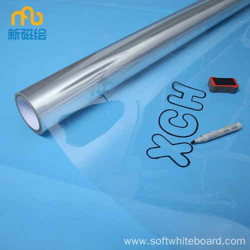 Roll Whiteboard Material - Clear PET Plastic Sheet