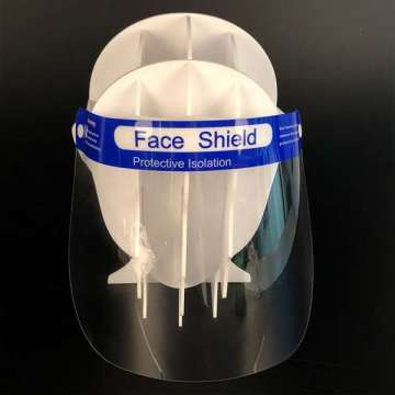 Anti Fog Safety Clear Transparent Plastic Face Shield
