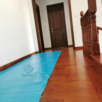Clear Office Wooden Floor Protector Mat