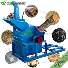 Weiwei garden waste machine hammer mill 15kw chippers
