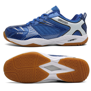 New Training Badminton Shoes Men Blue Anti Slip Tennis Shoes Male Breathable Volleyball Sneakers Quality Tennnis Sneakers