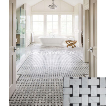 Marble Floor Inlay Pattern Stone Mosaic for Bathroom