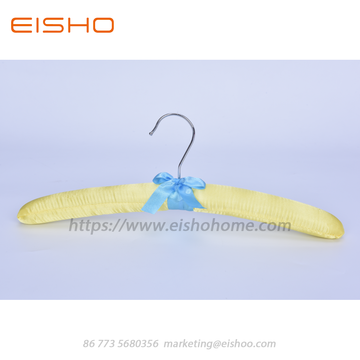 EISHO Satin Padded Clothes Hanger