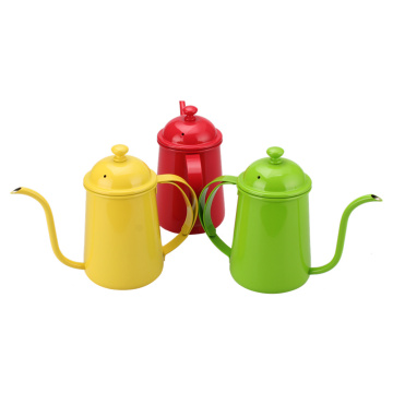 Colorful Professional GooseneckSpout Pour Over Coffee Kettle