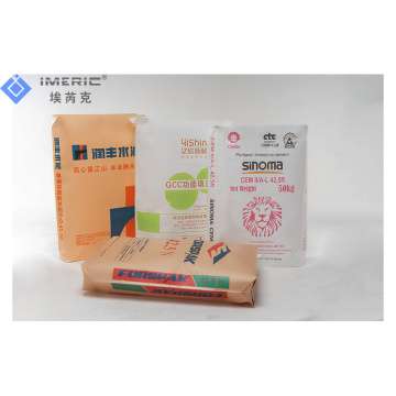 50kg Plastic PP PE Coated Polypropylene Woven Bags