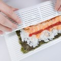 New 1pcs Sushi Tool Plastic Rolling Mat Portable Healthy Japan Korea Home DIY Kitchen Rice Roll Maker Sushi Maker Tools