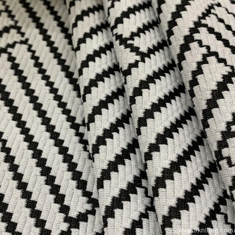 The Highest Quality Zebra Stripes Jacquard Cloth